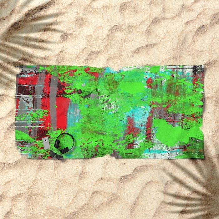 Colour Injection II Beach Towel