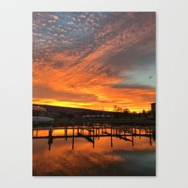 Sunrise over Seneca Canvas Print