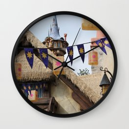 Tangled Tower Wall Clock