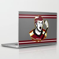 picard Laptop & iPad Skins featuring Alexandre Picard by Kana Aiysoublood