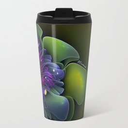 Fairy Lotus Metal Travel Mug
