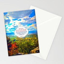 Shout for Joy! Stationery Cards