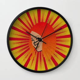 Vintage Asian Woman Portrait Wall Clock