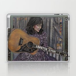Loretta Lynn Laptop & iPad Skin