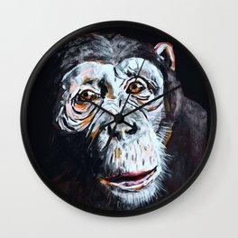 Chimpanzee: One Survivor Wall Clock