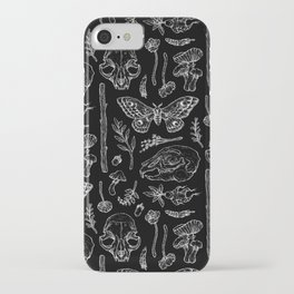 Witchcraft II [B&W] iPhone Case