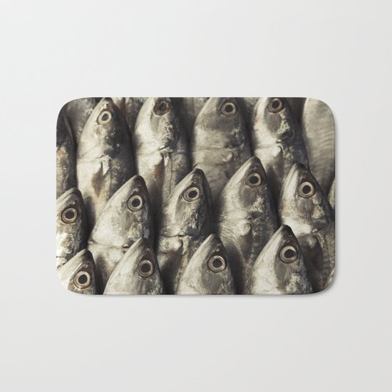 Fresh Fish Bath Mat