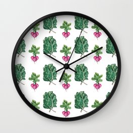 Kale Yeah! Wall Clock
