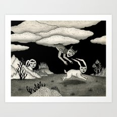 The Abduction Art Print