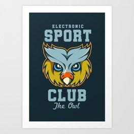 Electronic Sport Club Art Print