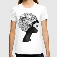 flowers T-shirts featuring Marianna by Ruben Ireland