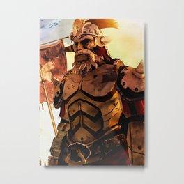 Fallout Metal Print
