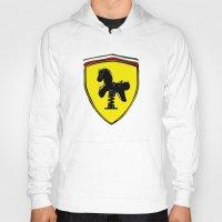 ferrari Hoodies featuring Ferrari cute by le.duc