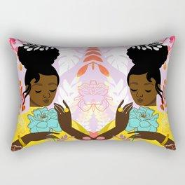 Marigold in October Rectangular Pillow