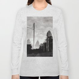 Ghostly Lines Long Sleeve T-shirt