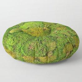 Green moss carpet No2 Floor Pillow