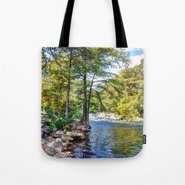Guadalupe River - Gruene Texas Tote Bag