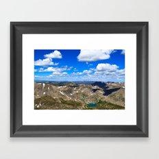 Above the World Framed Art Print