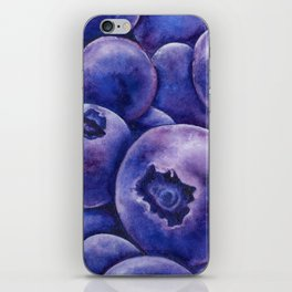Fresh Blueberries iPhone Skin