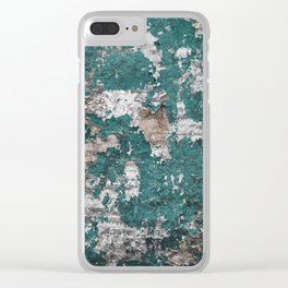 Manchester Wall Mural Clear iPhone Case