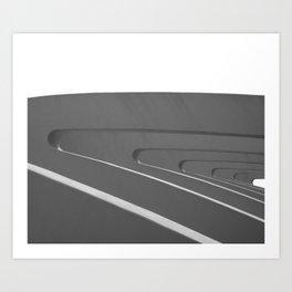 Buttresses Art Print