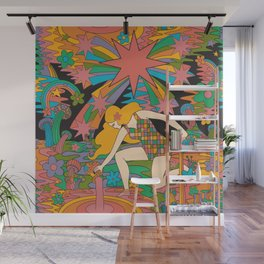 The Star Wall Mural
