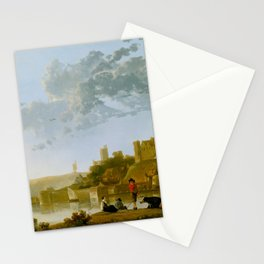 The Valkhof at Nijmegen by Aelbert Cuyp Stationery Cards
