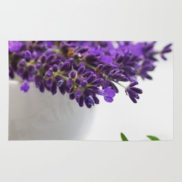 Creative lavender image for healing practice No.2 Rug