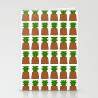 pineapples Stationery Cards featuring Pineapples by Justbyjulie