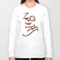 zombies Long Sleeve T-shirts featuring Zombies by Chawalit Jitsanorh