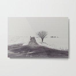 Country side Iowa. Metal Print