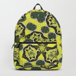 Summer invasion on leafs Backpack