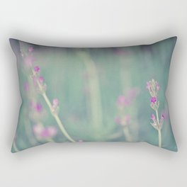 Lavender - Floral Photography #Society6 Rectangular Pillow