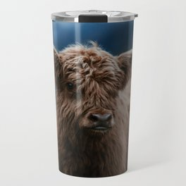 Baby Highland Cow Travel Mug