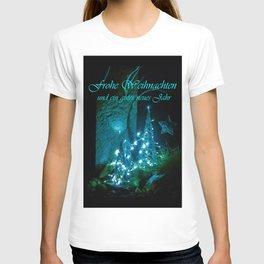 Frohe Weihnachten und ein gutes neues jahr T-shirt