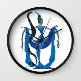 Yemaya Wall Clock