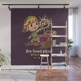 The Legendary Pizza Wall Mural