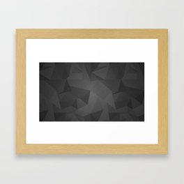 Black Kryptonite Framed Art Print