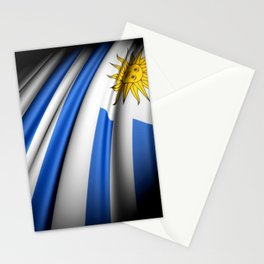 Flag of Uruguay Stationery Cards
