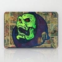 skeletor iPad Cases featuring Skeletor by Beery Method