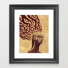 Don't Let The Dark Ones In Framed Art Print
