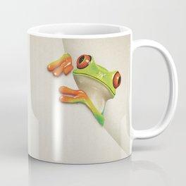Little Red Eyed Tree Frog Coffee Mug