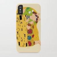 klimt iPhone & iPod Cases featuring Klimt muppets by tuditees