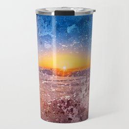 Acrylic San Francisco Sunrise Travel Mug
