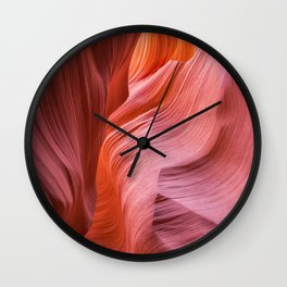 Canyon Swirls Wall Clock