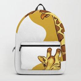 Funny Giraffe Backpack