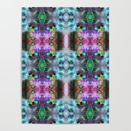 Neurotransmitted Daydreams (Pattern 2) Poster