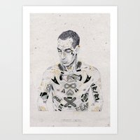 Smokin' Jacket Art Print