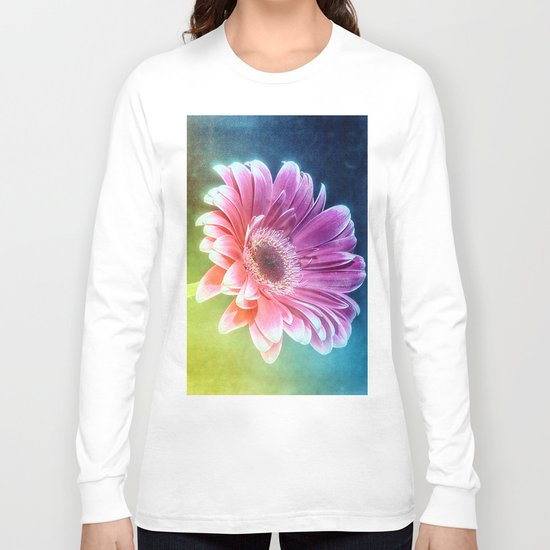 The Gerbera Rainbow Long Sleeve T-shirt