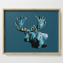 Too Cool Moosey Moose Serving Tray